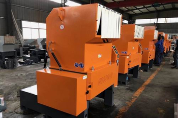 Several Crushing Methods of Plastic Crusher Machine